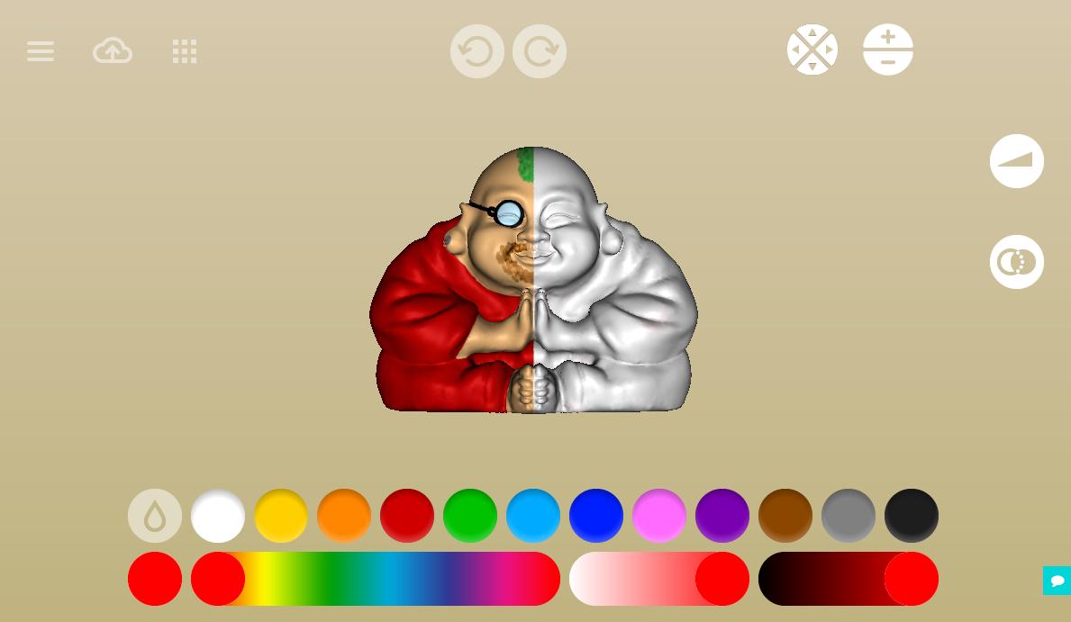 color palette leopoly 3d printing