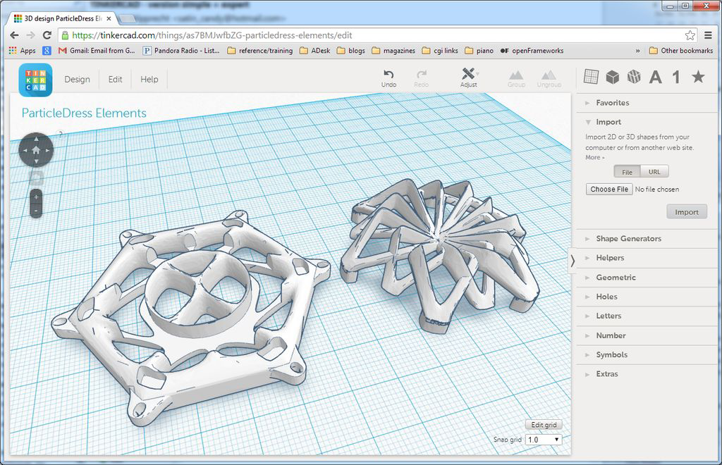 3d printed open source elements dress 3d printing industry Opensource cad dwg