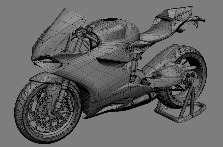 3d Printed Ducati 1199 Superbike 3d Printing Industry: design a 3d model online