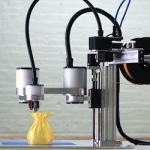 flx.arm hybrid 3D printing milling pick-and-place machine