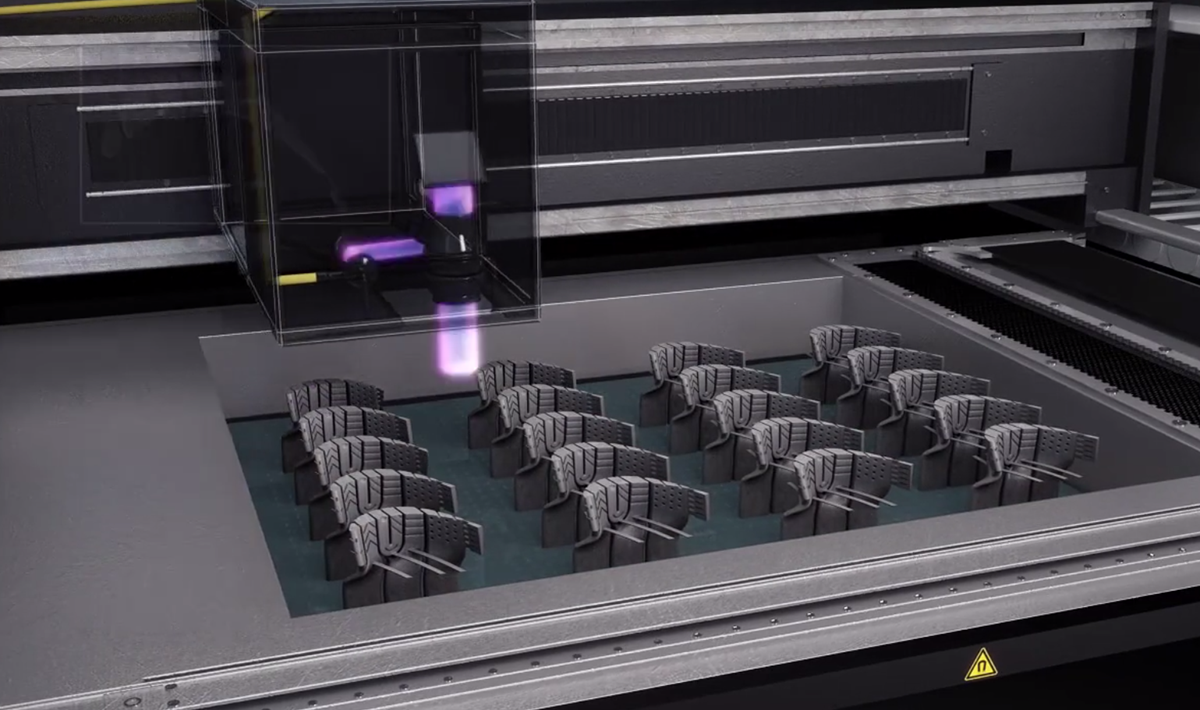Lamp 3d printing process may just revolutionize investment 3d printing process