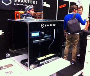 ng sharebot 3d printer