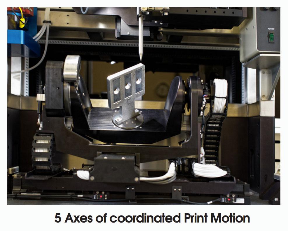 optomec 5axis 3d printing