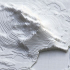 3D Printed Earthquake Data Visualisation