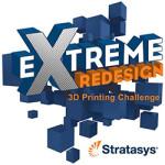 redesign 3d printing design challenge logo
