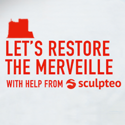 sculpteo restores THE-MERVEILLE with 3D scanning and 3D printing