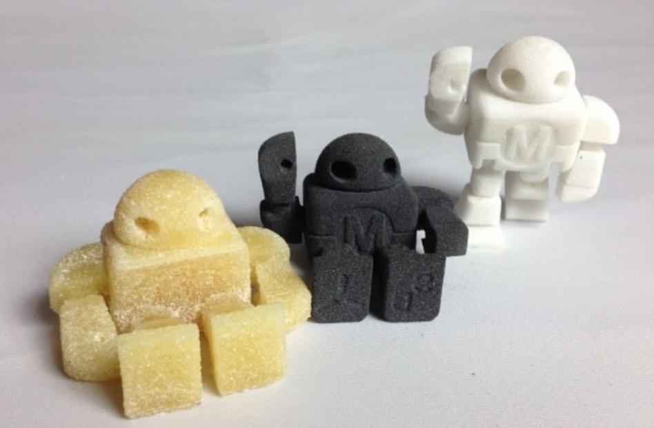 snowwhite 3d printing sugar graphene nylon
