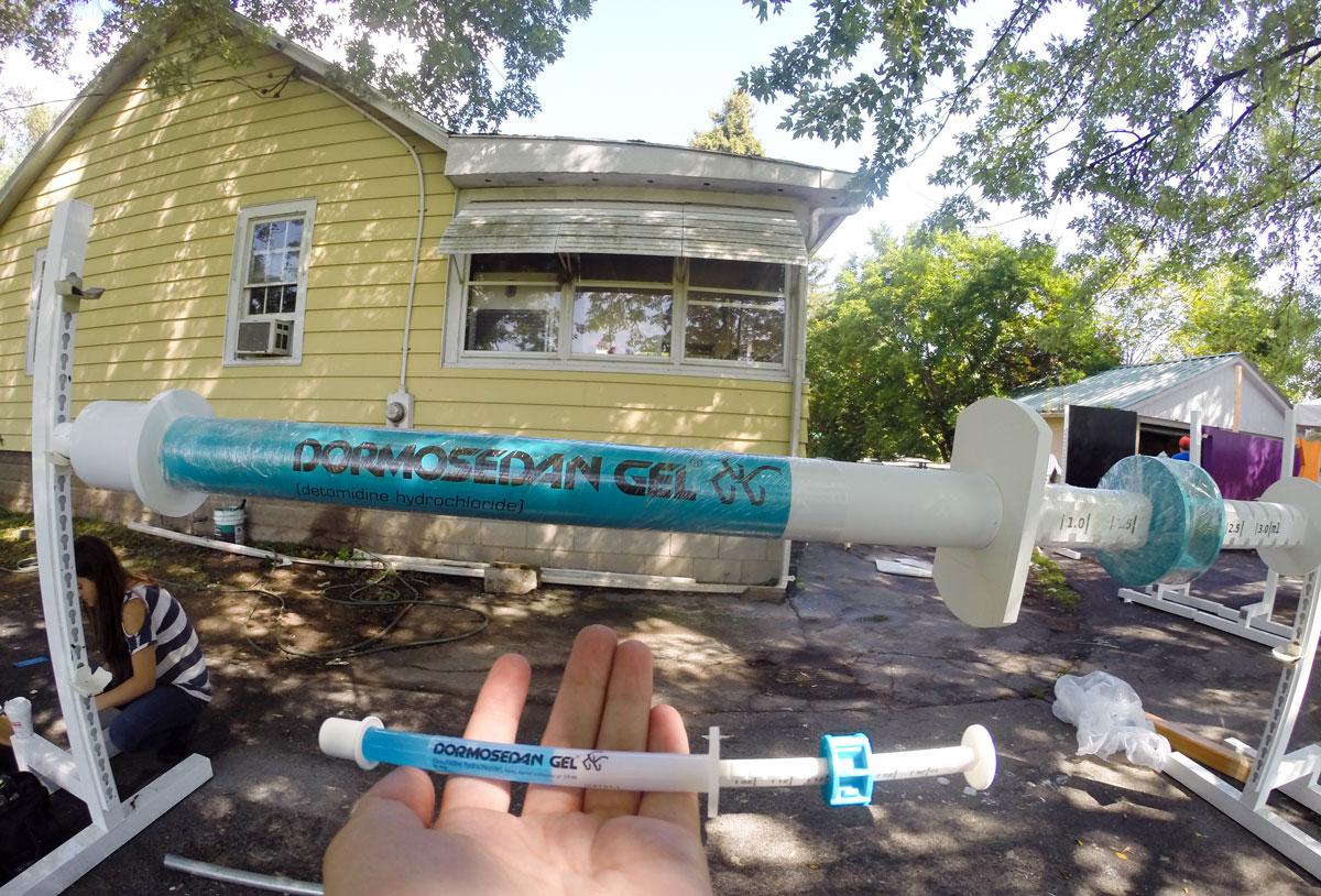 syringe compare 3d printing