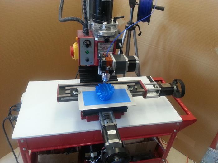 tribot 3d printing