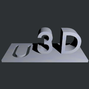 u3d 3d printing ireland