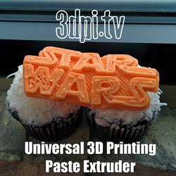 universal 3d printing extruder