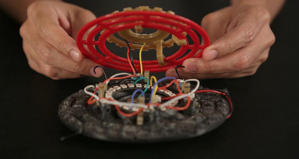 3D printed iron man arcreactor