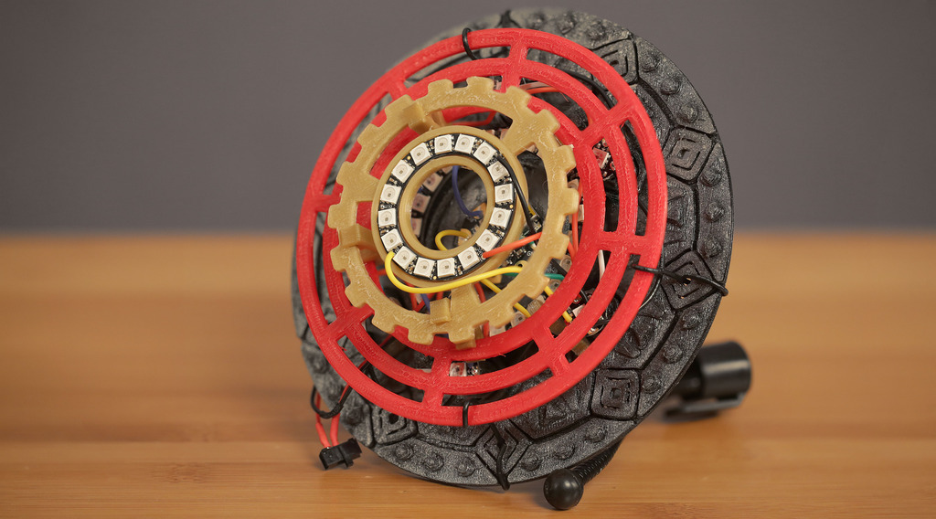 3D printed iron man unibeam