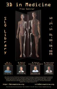 3D printing in medicine flyer