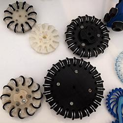 3d printed wheels robocup