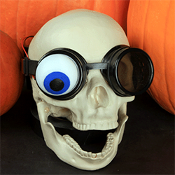Adafruit 3d printed Bionic Eye project halloween