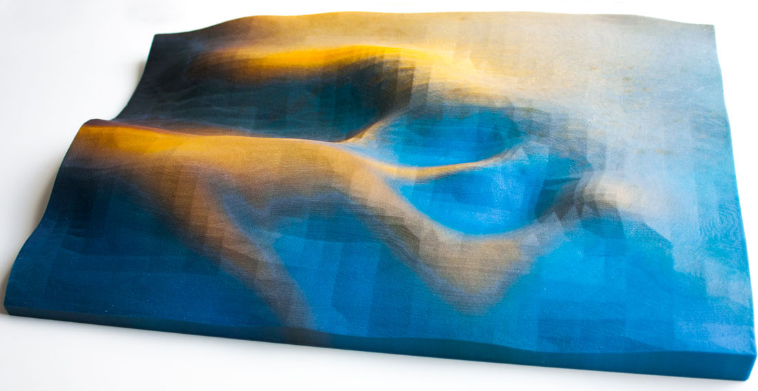 EROSION 3D printed art