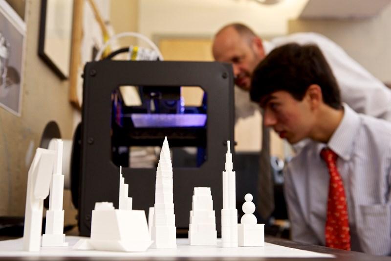 Hun School 3D Printing
