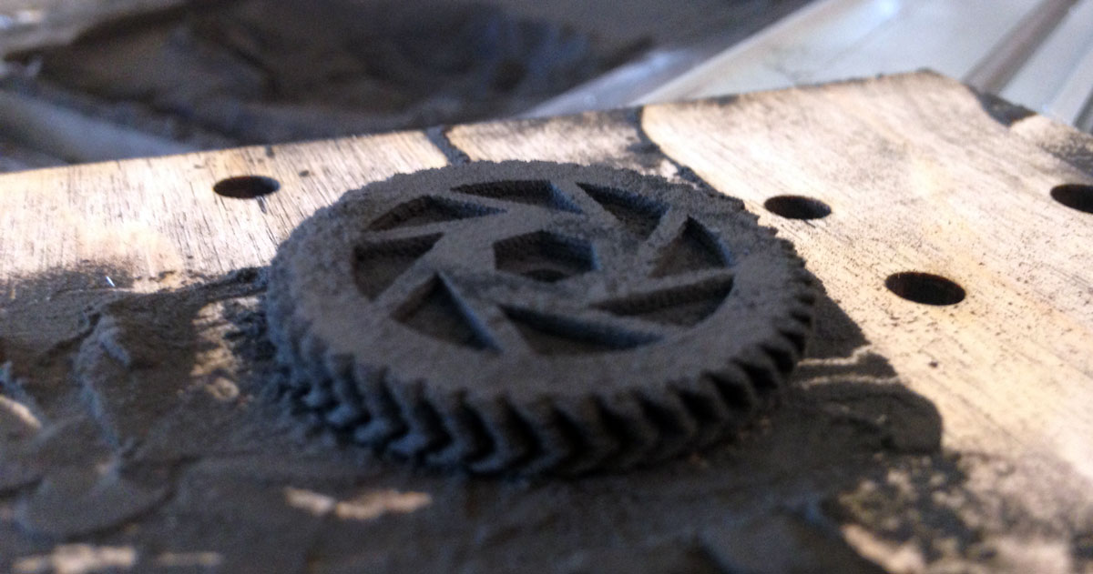 aperture gear 3d printing ester