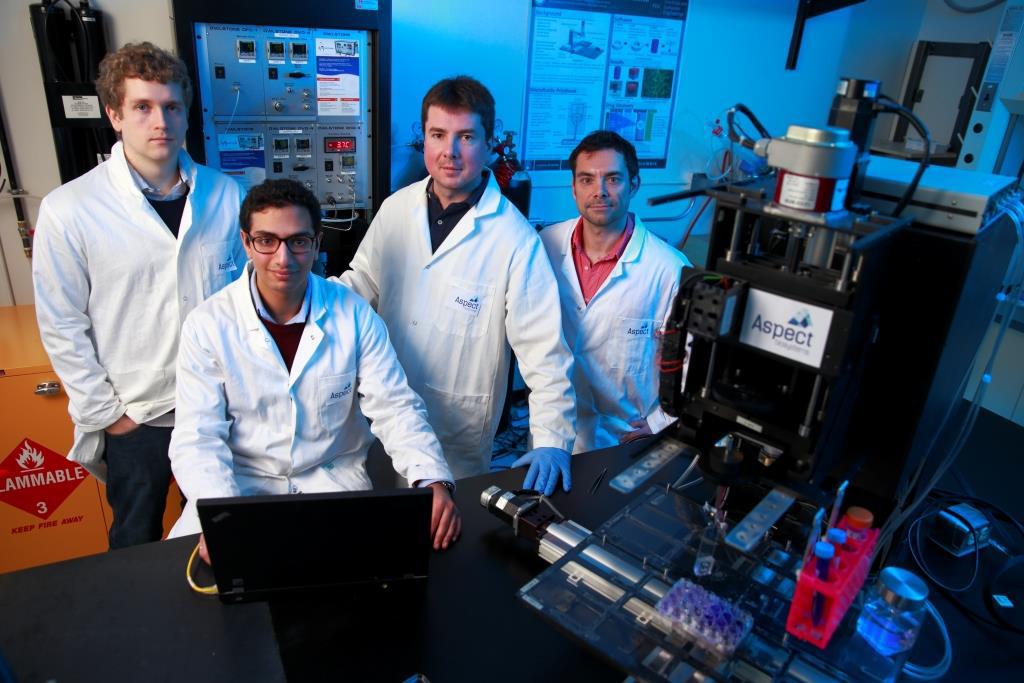 aspect team 3d bioprinting