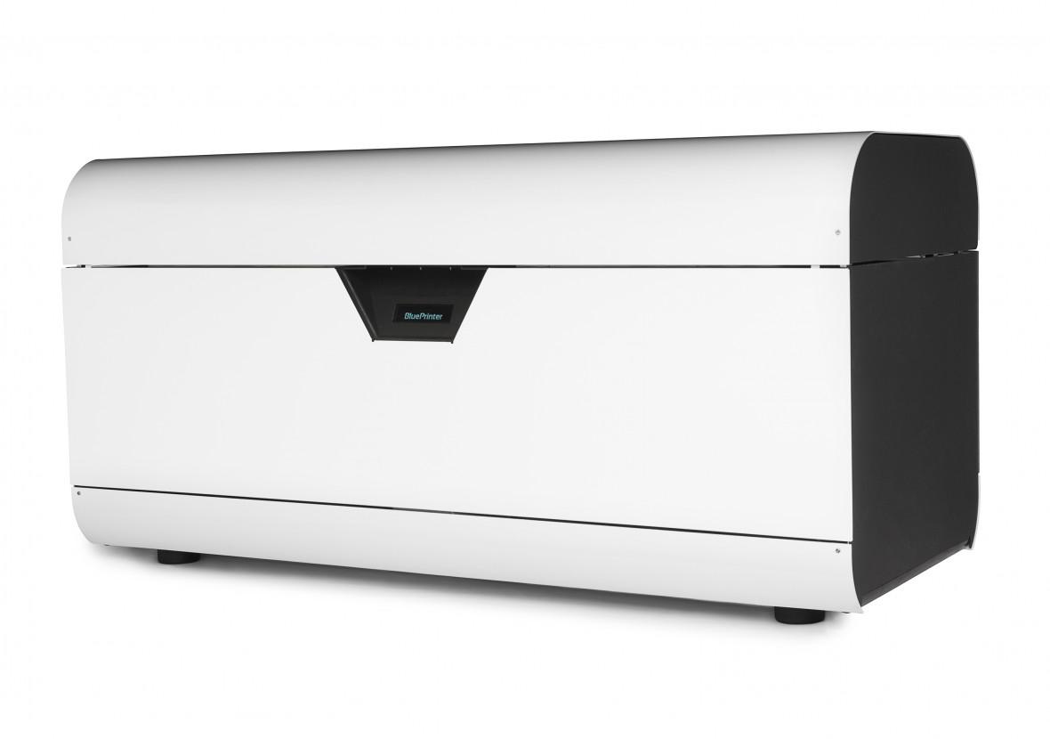 M2 Model Blueprinter 3d printer side
