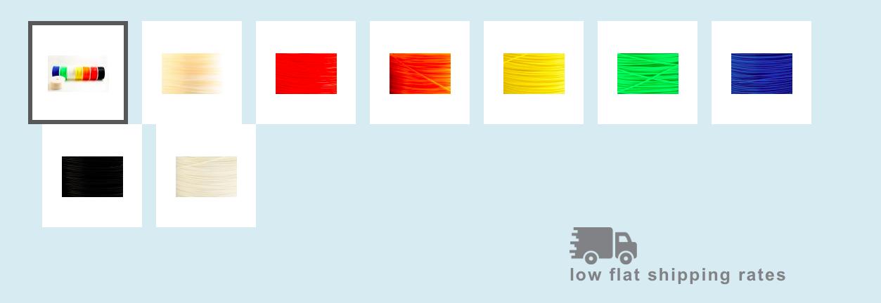 colors foxsmart 3d printing filament