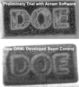 controlling 3D printed metal with arcam ebm