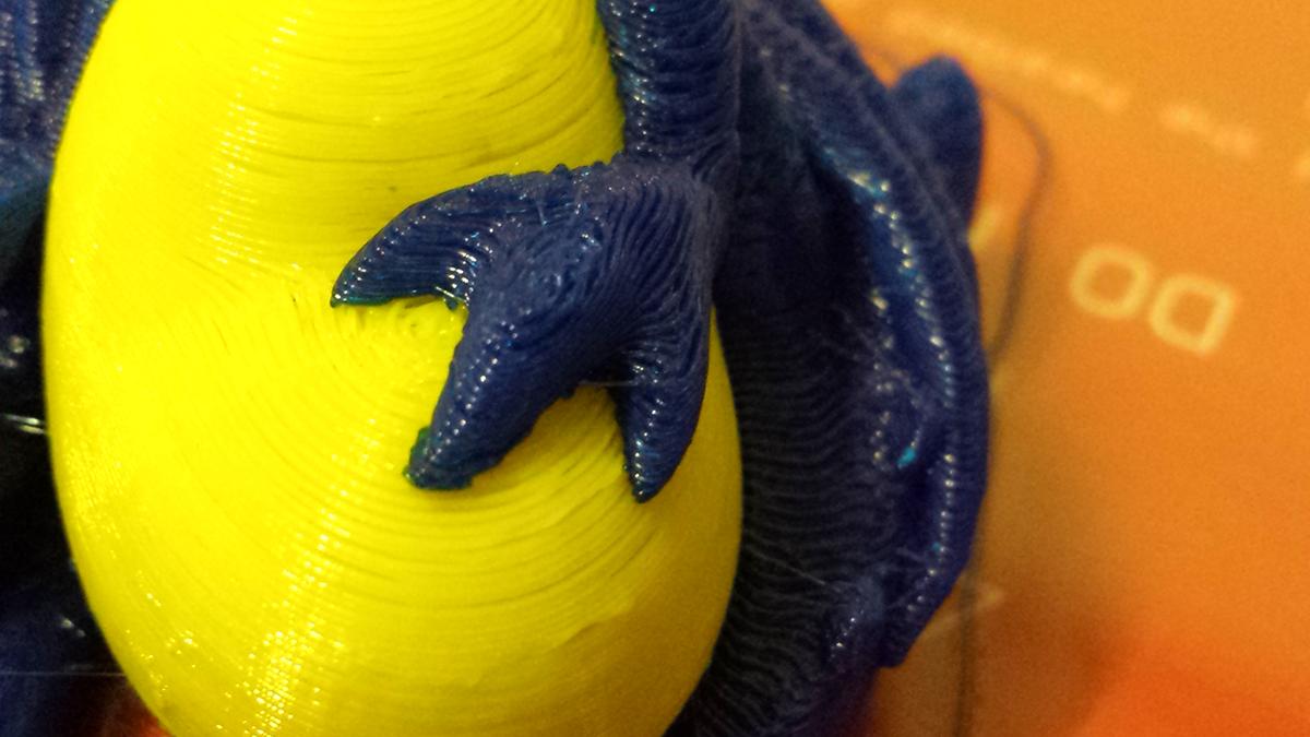 cyclops 3d print egg