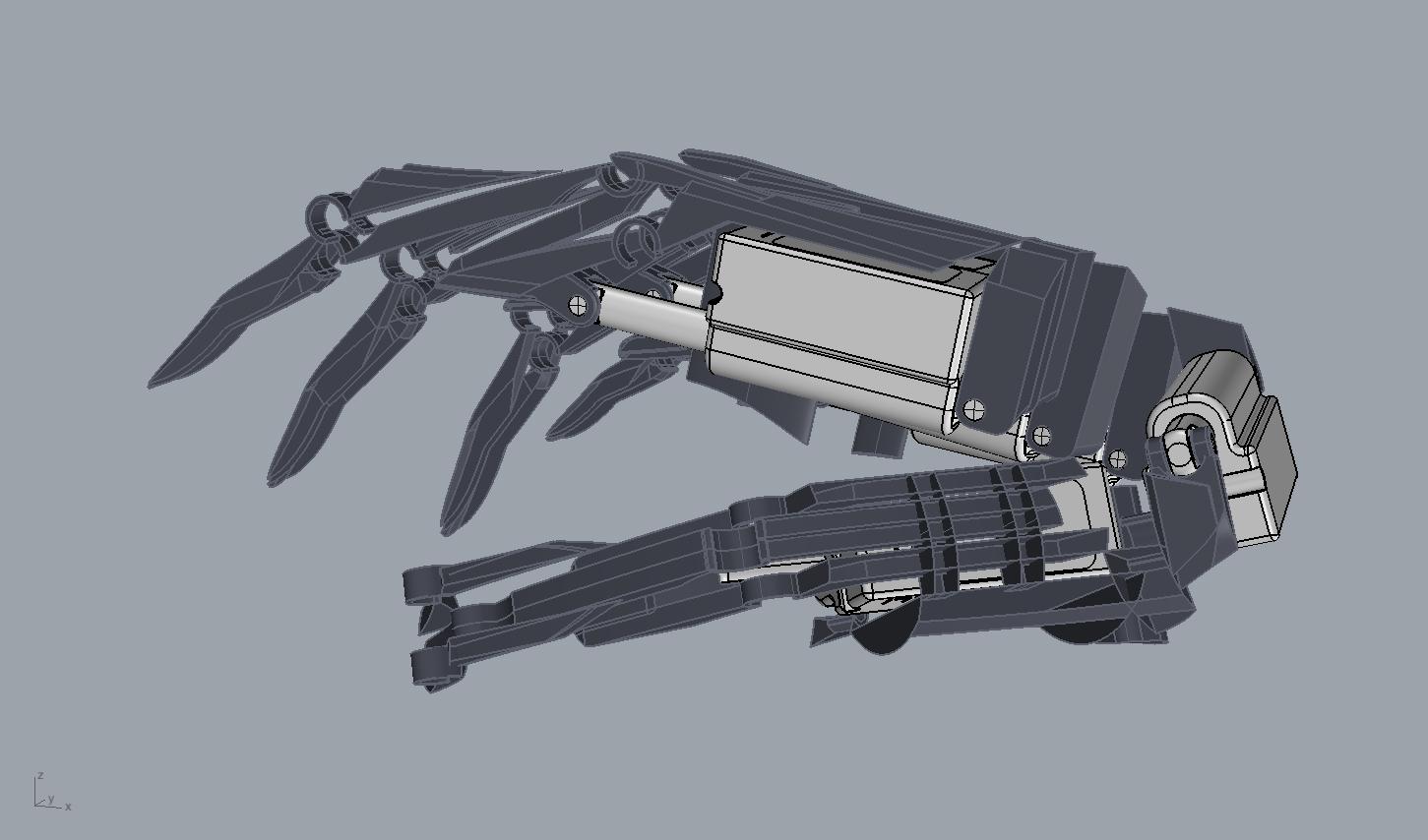 design youbionic hand 3d printing