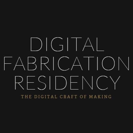 digital fabrication residency 3d printing