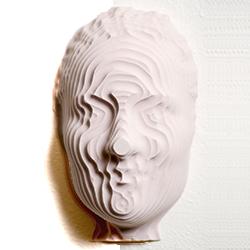 3D printed art exhibit