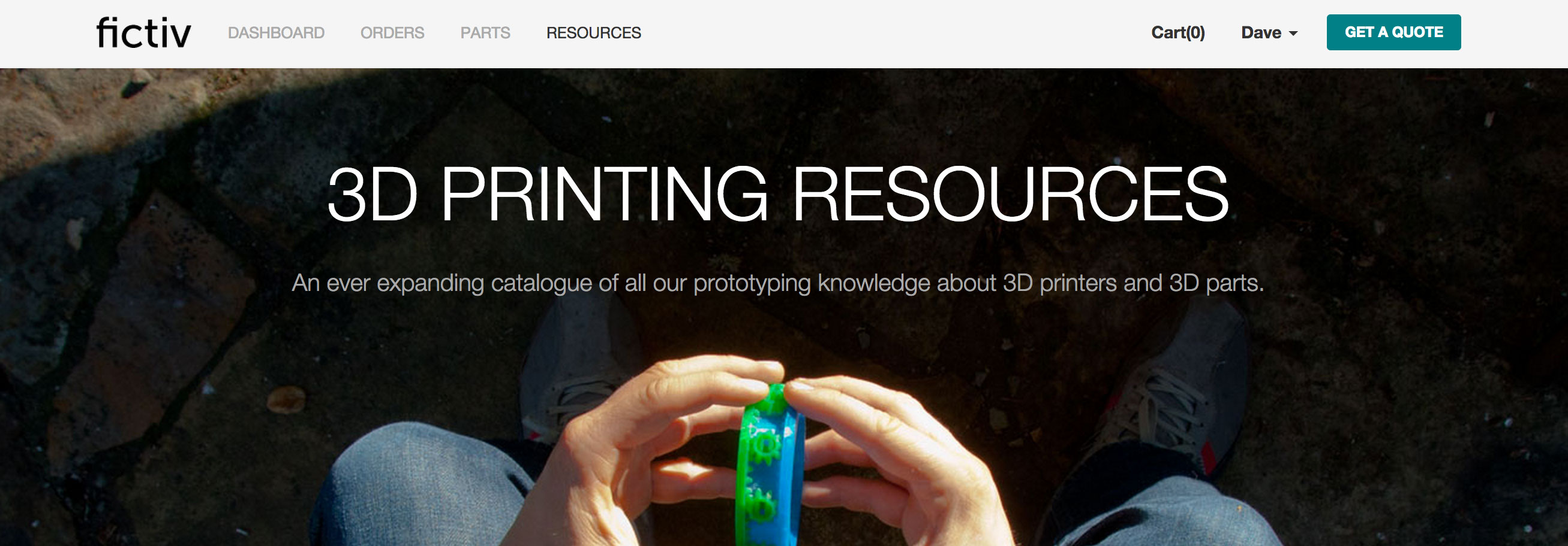 fictiv 3d printing resources