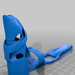 3d printed finger prosthetic render