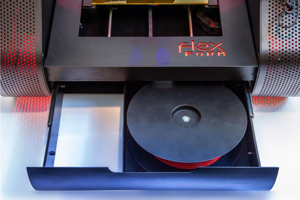 flexform 3D printer filament holder