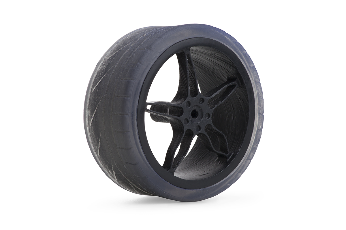 formlabs_flexible_tire 3d printing material