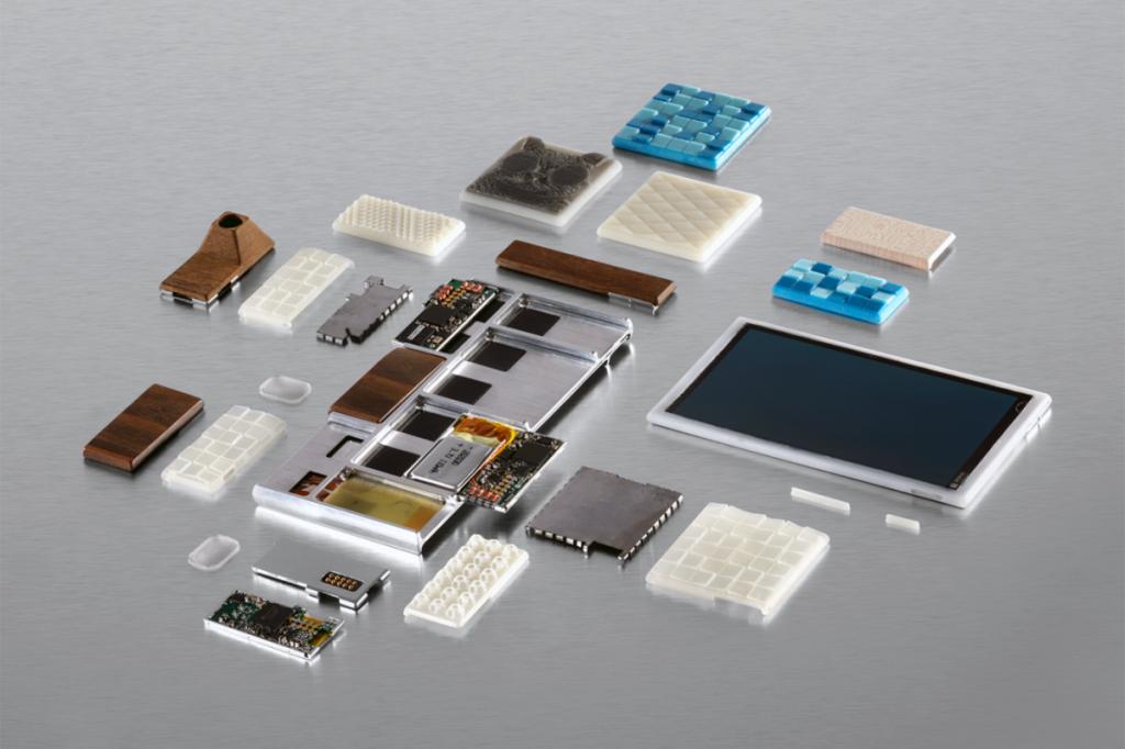 google project ara prototype 3D printing