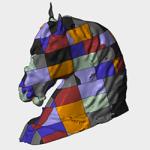 horse digital Patchwork_grande big