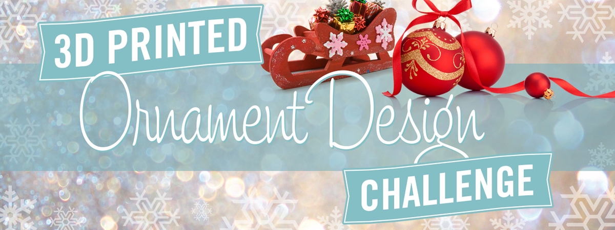 instructables 3D printed ornament challenge