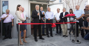 israeli finance minister yair lapid speaks at stratasys 3D printing facility in kiryat gat