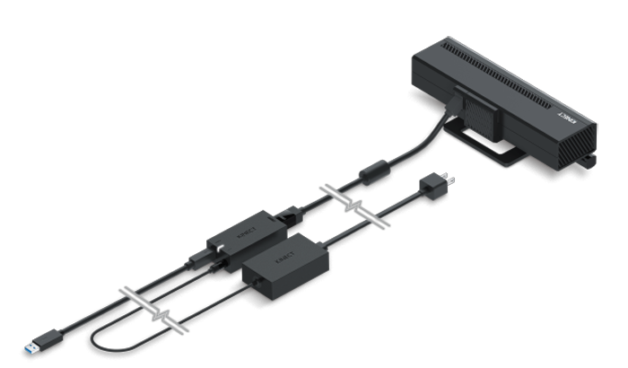 kinect adapter for 3D printing