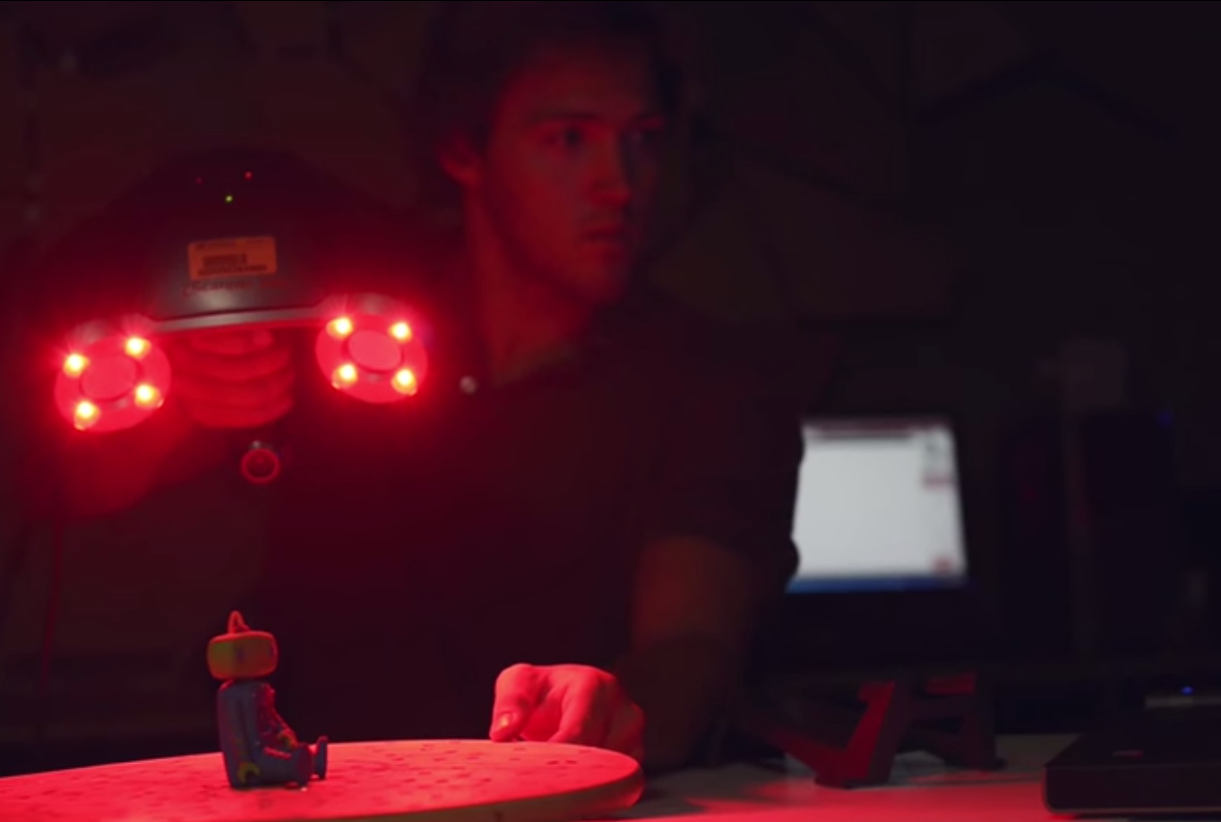 laser scan University of Florida's A² Digital Fabrication Lab