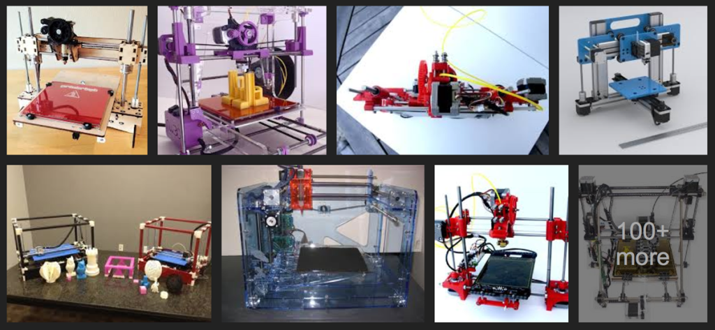 low cost desktop 3D printers