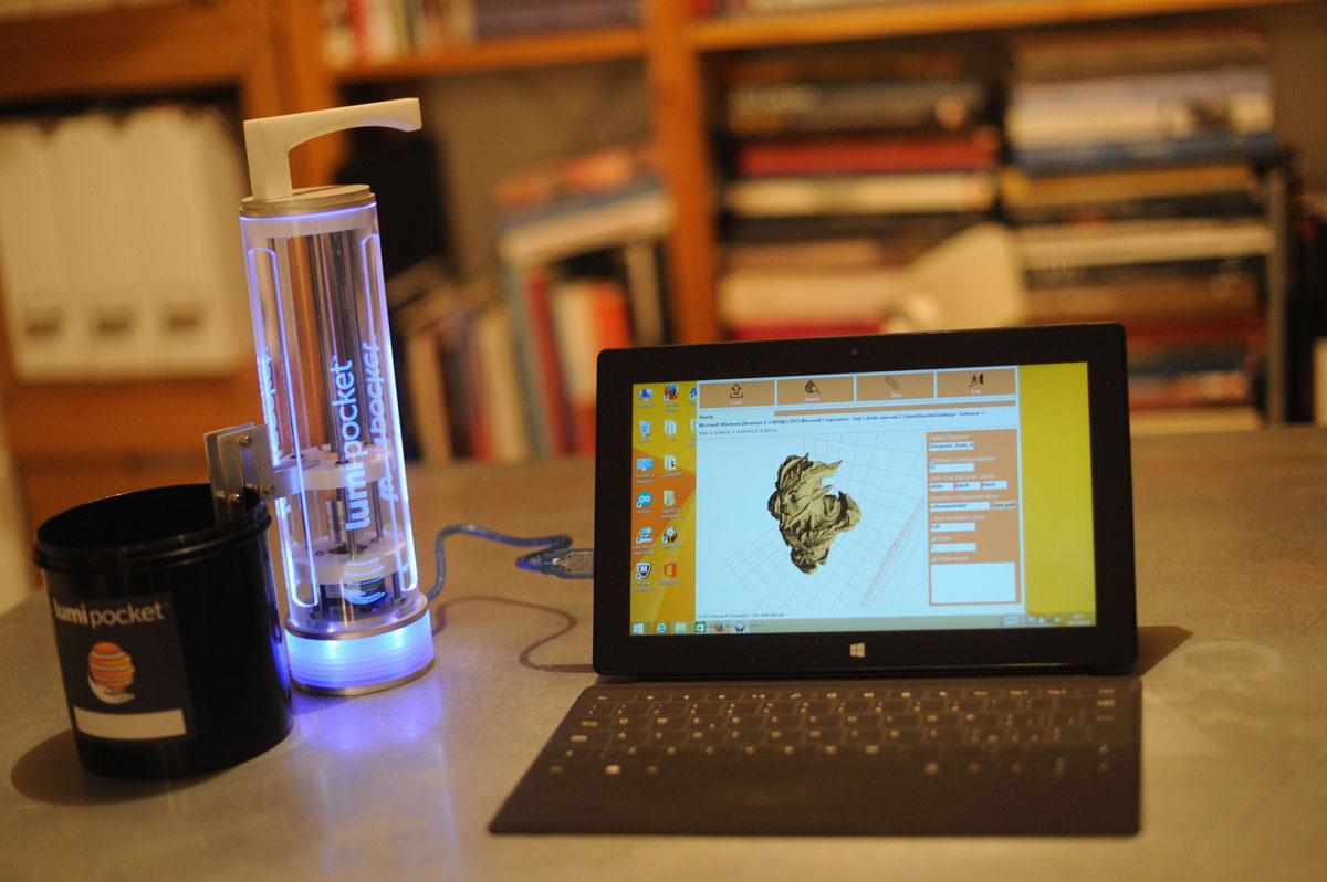 lumipocket 3d printer