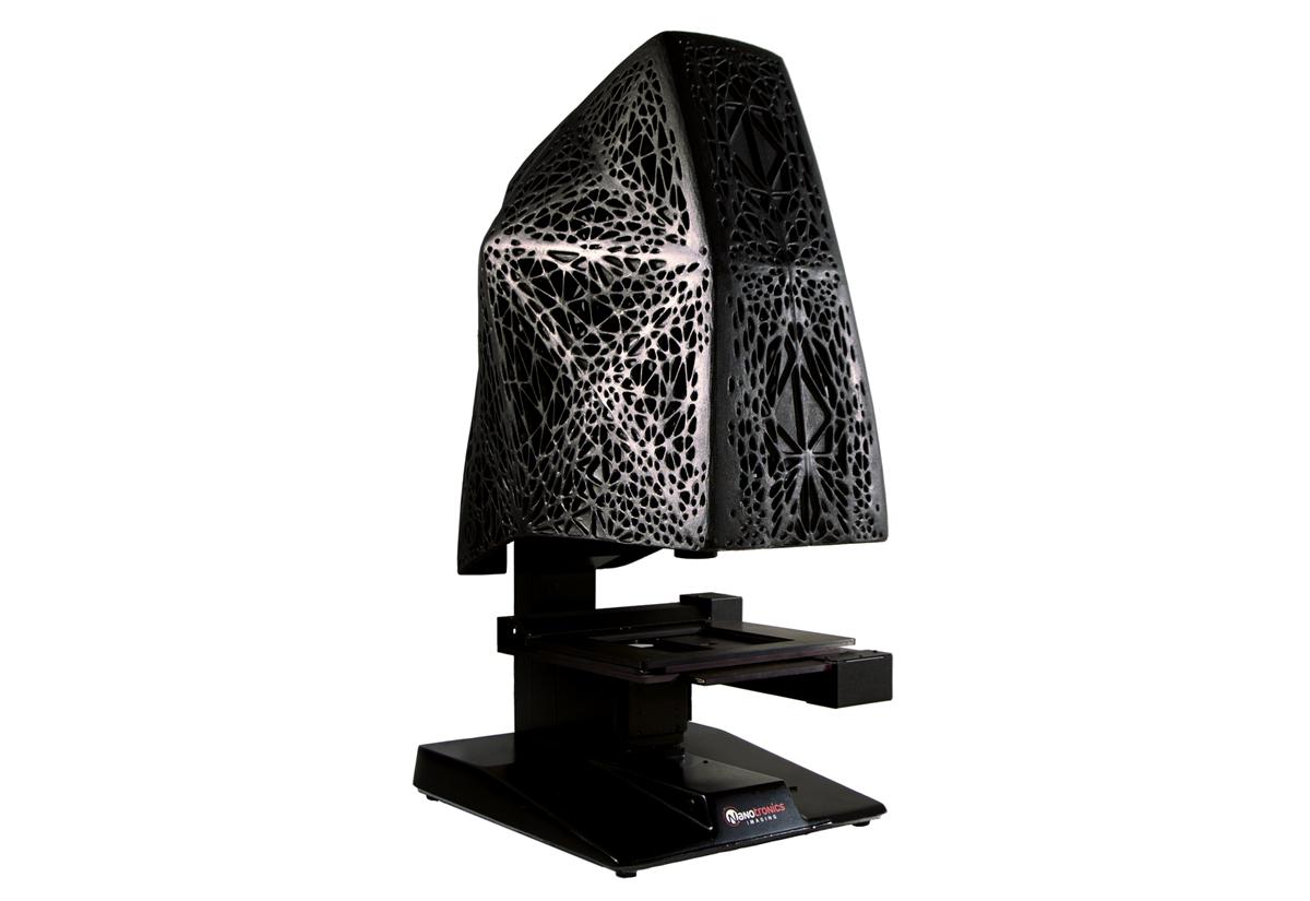 nanotronics nspec3D 3D printed hood 3d microscope
