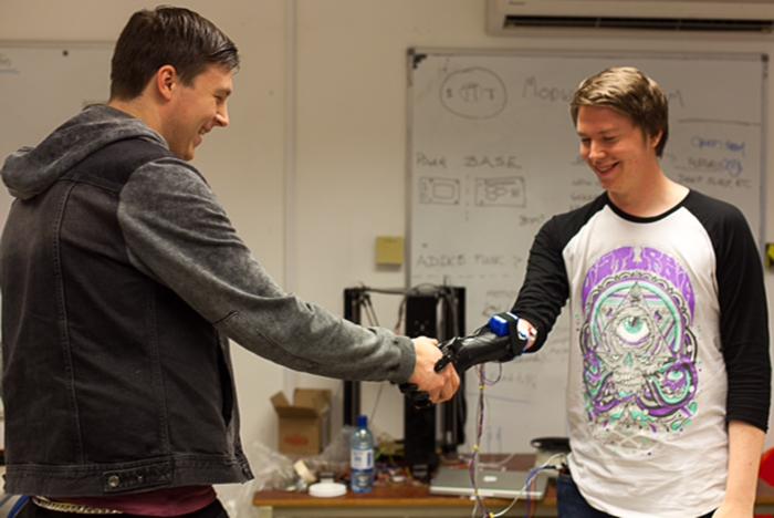 openbionics 3d printed Robotic Prosthetic