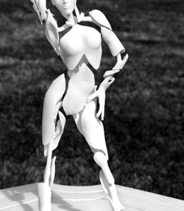 phil nolac contrapposto 3d printed statue