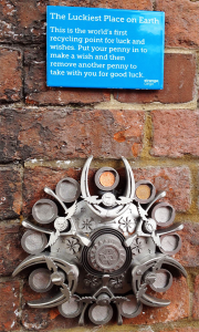 renishaw 3D printed luckiest place on earth sculpture