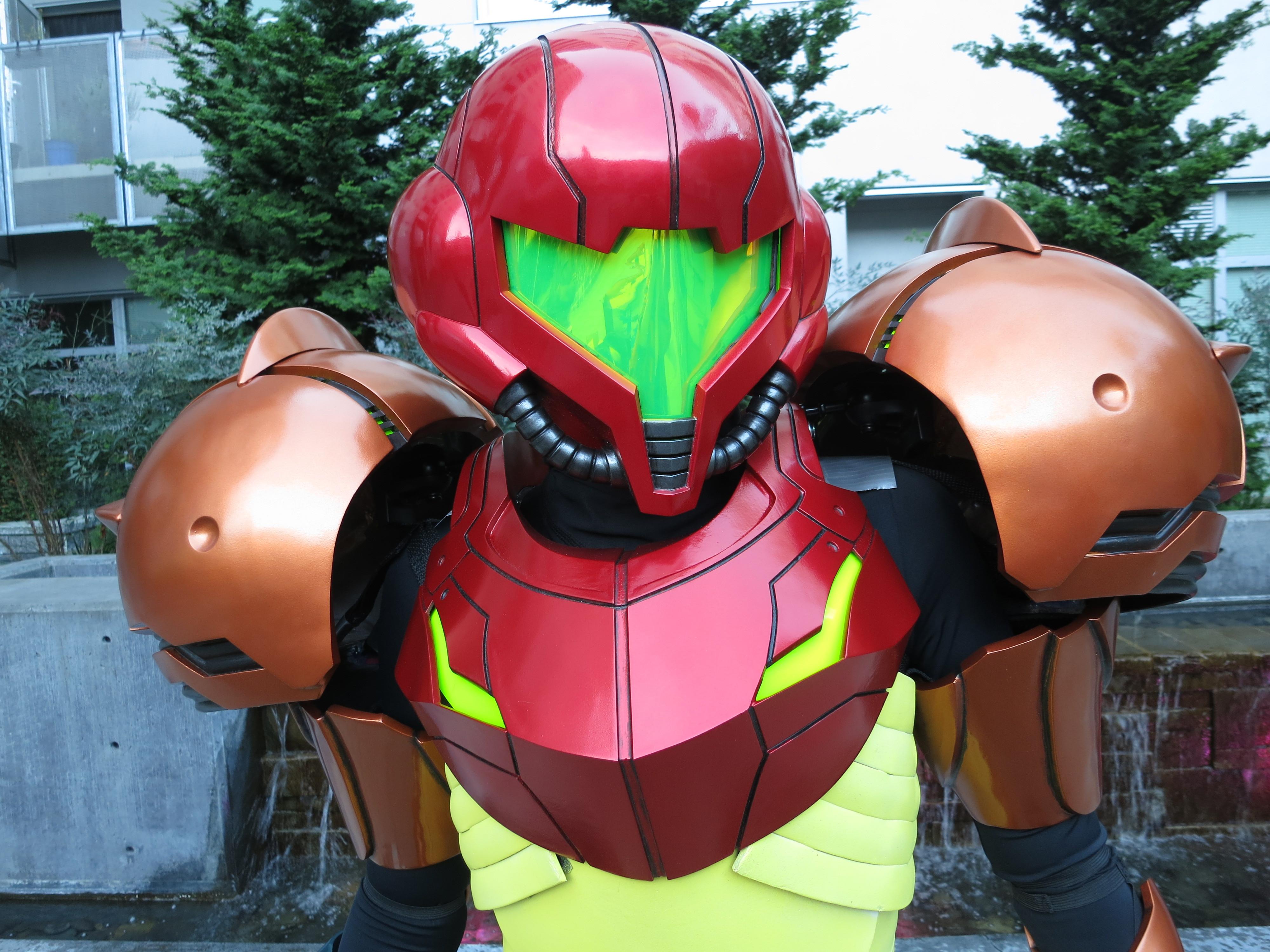 metroid samus aran 3d printing cosplay