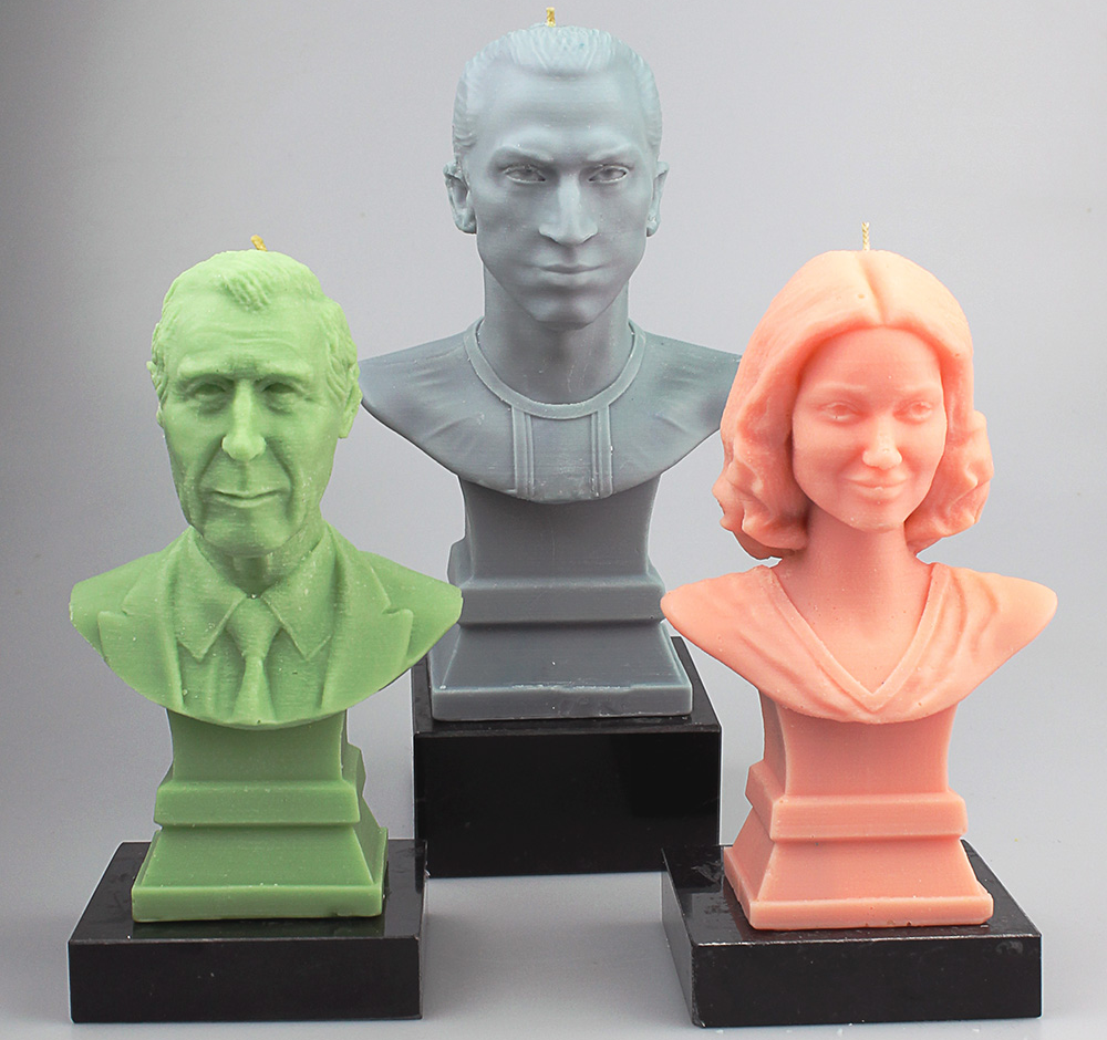 3d Printed Mini You Candles 3d Printing Industry