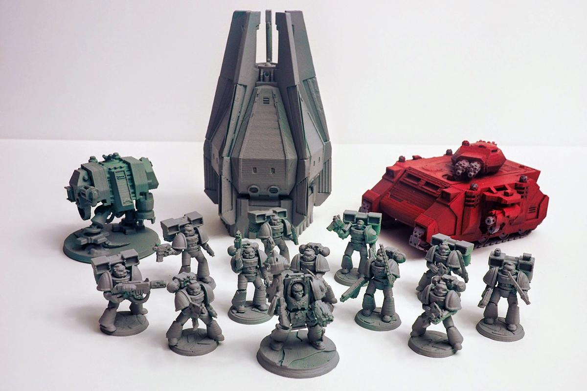 3d printed warhammer 40kspacemarines